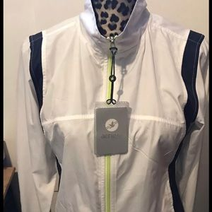 NWT Aerie Fit American Eagle WarmUp Track Jacket M